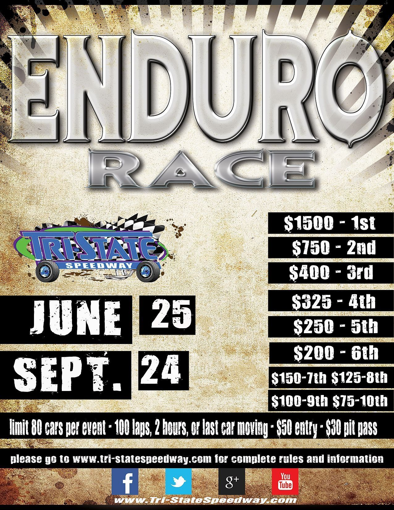 $1,500 to Win Enduro #1 - MOVED to June 25th