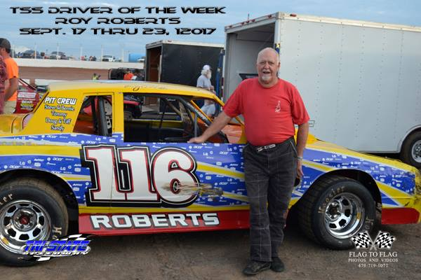 Driver of the Week: Roy Roberts