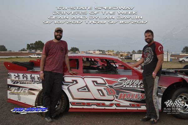 Drivers of the Week: Dylan and Gean Davlin