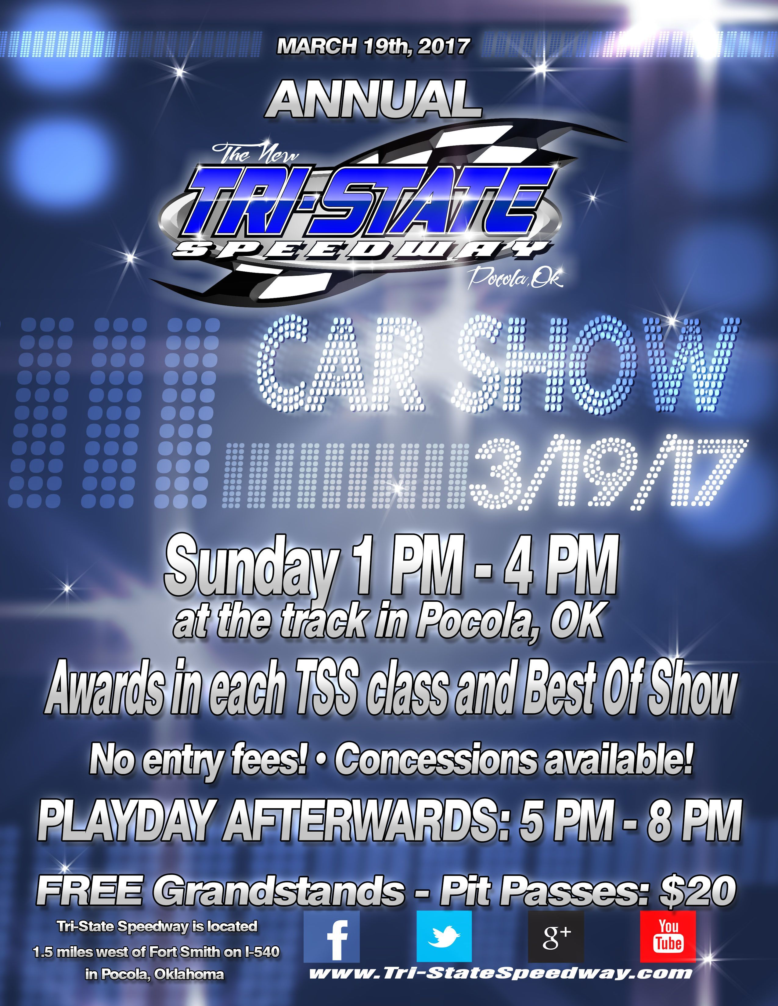 Annual Car Show and Play Day Date Changed
