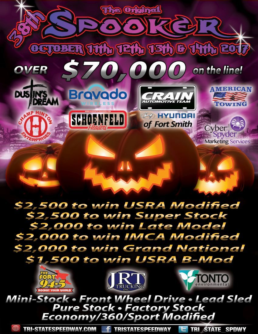 38th Annual Spooker (Flyer-Front)
