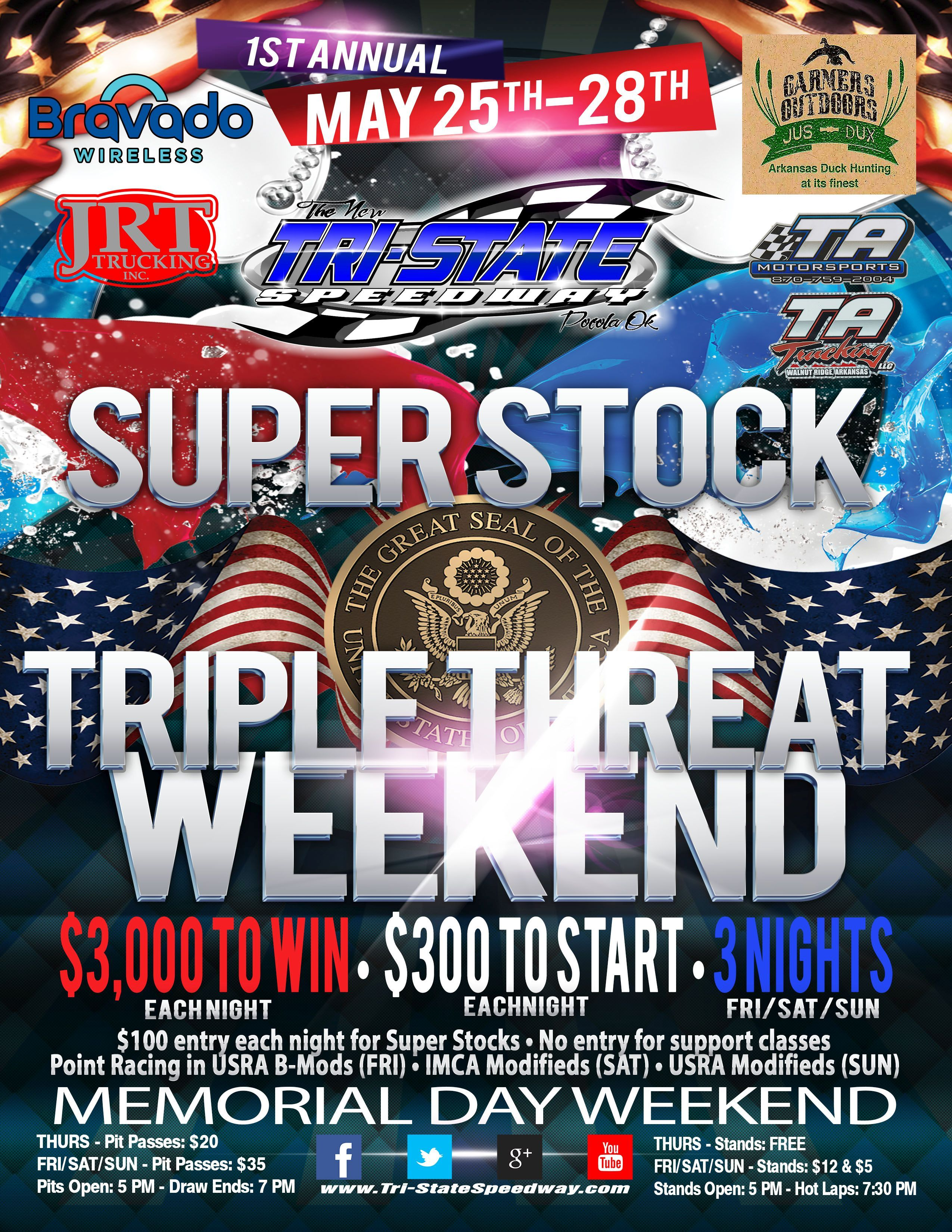 1st Annual Super Stock Triple Threat Weekend