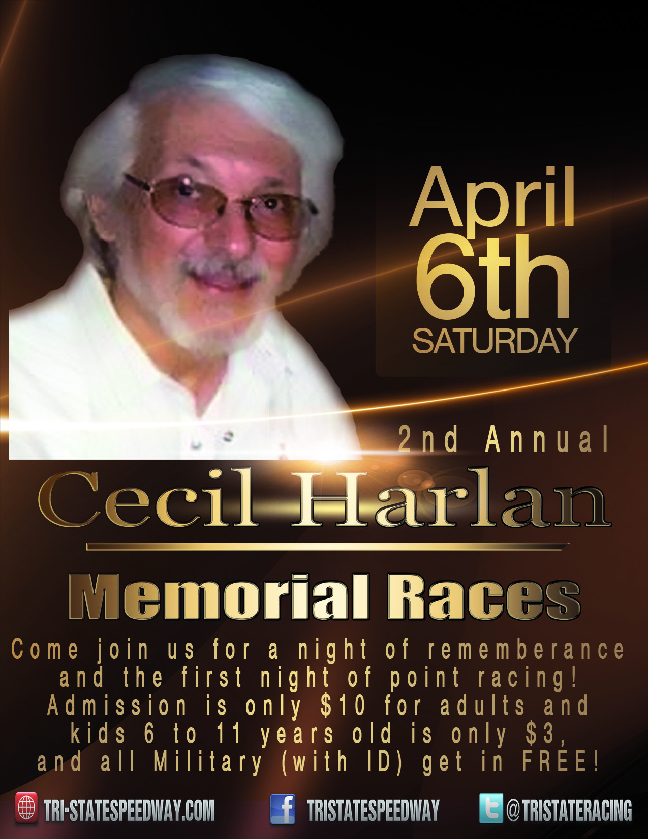 2nd Annual Cecil Harlan Memorial Races
