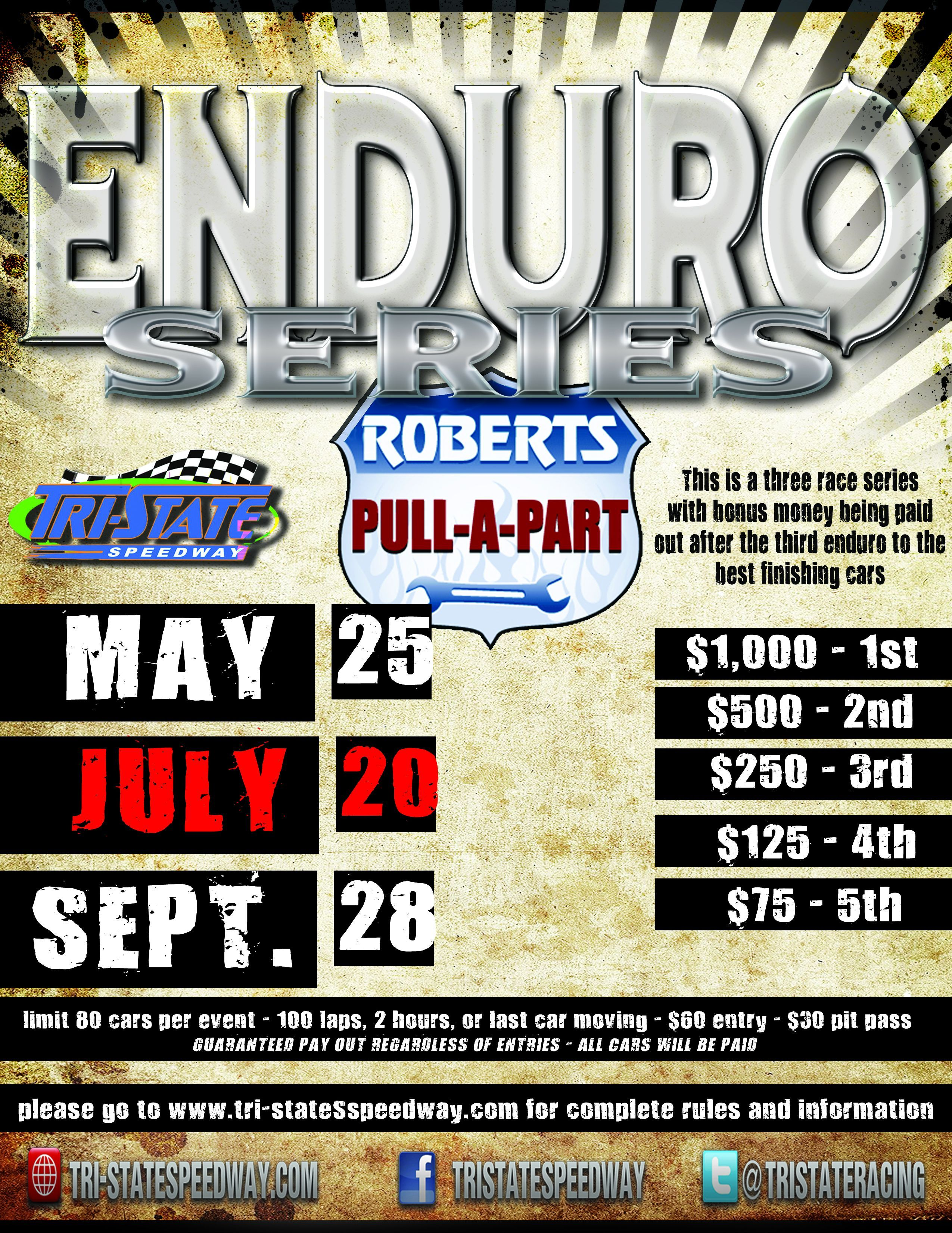 Enduro Series Race #2 - July 20th, 2013