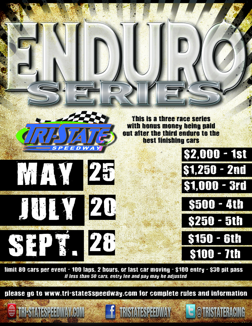 2013 Enduro Series Flyer