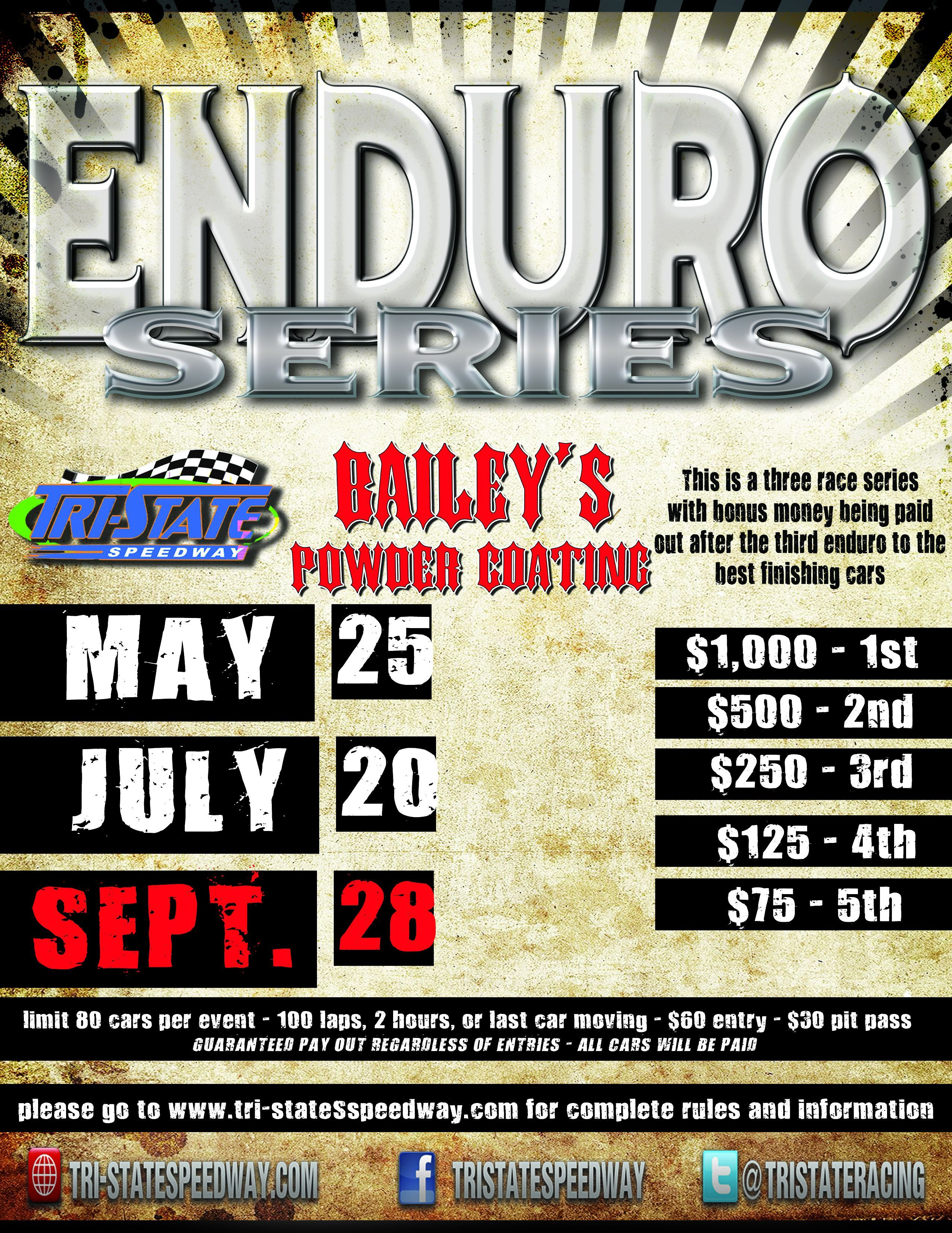 Enduro Series Race #3 and 43rd Annual Points Championship