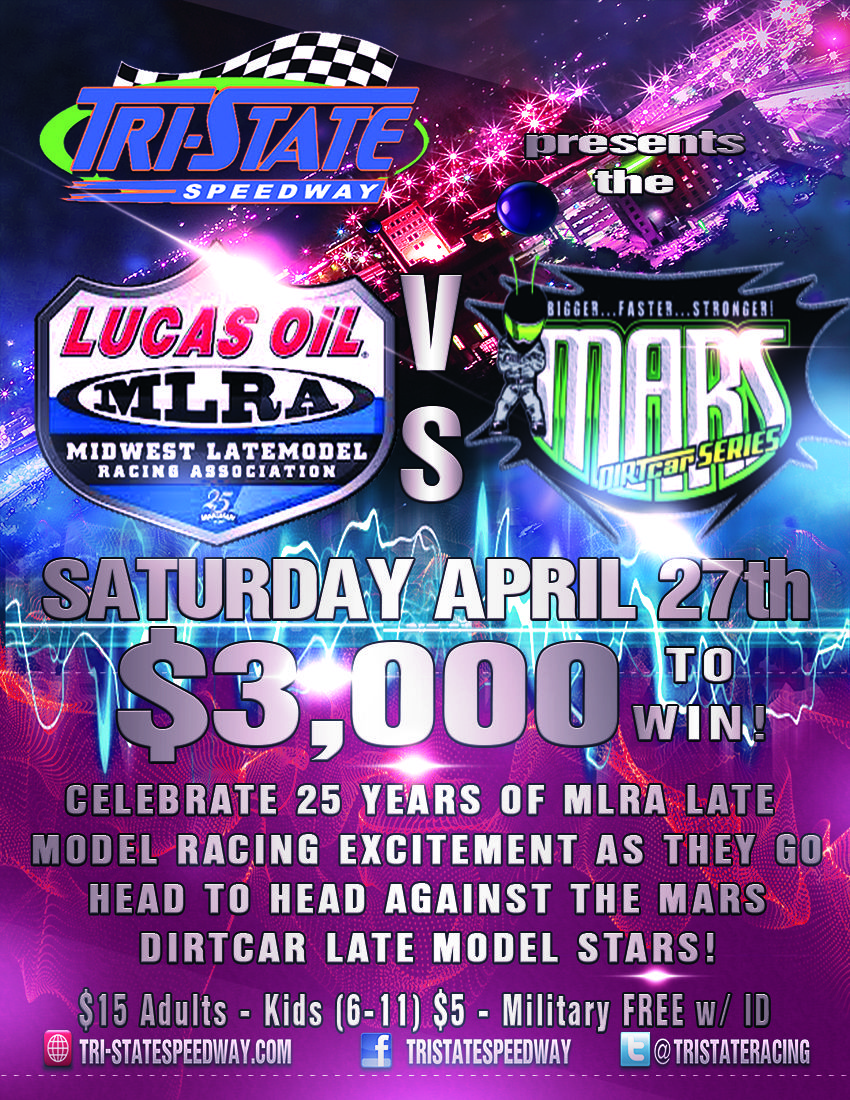 Lucas Oil MLRA Late Models vs. MARS DIRTCar Series Late Models