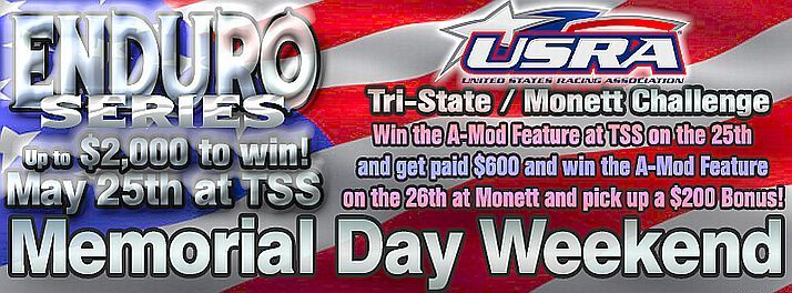 Memorial Day Enduro #1 and Modified Challenge
