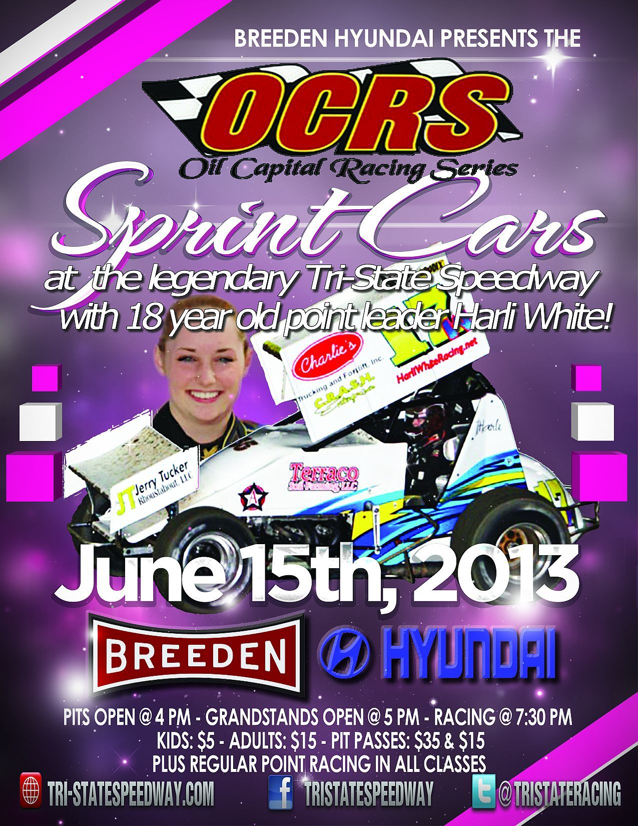Oil Capital Racing Series with Harli White