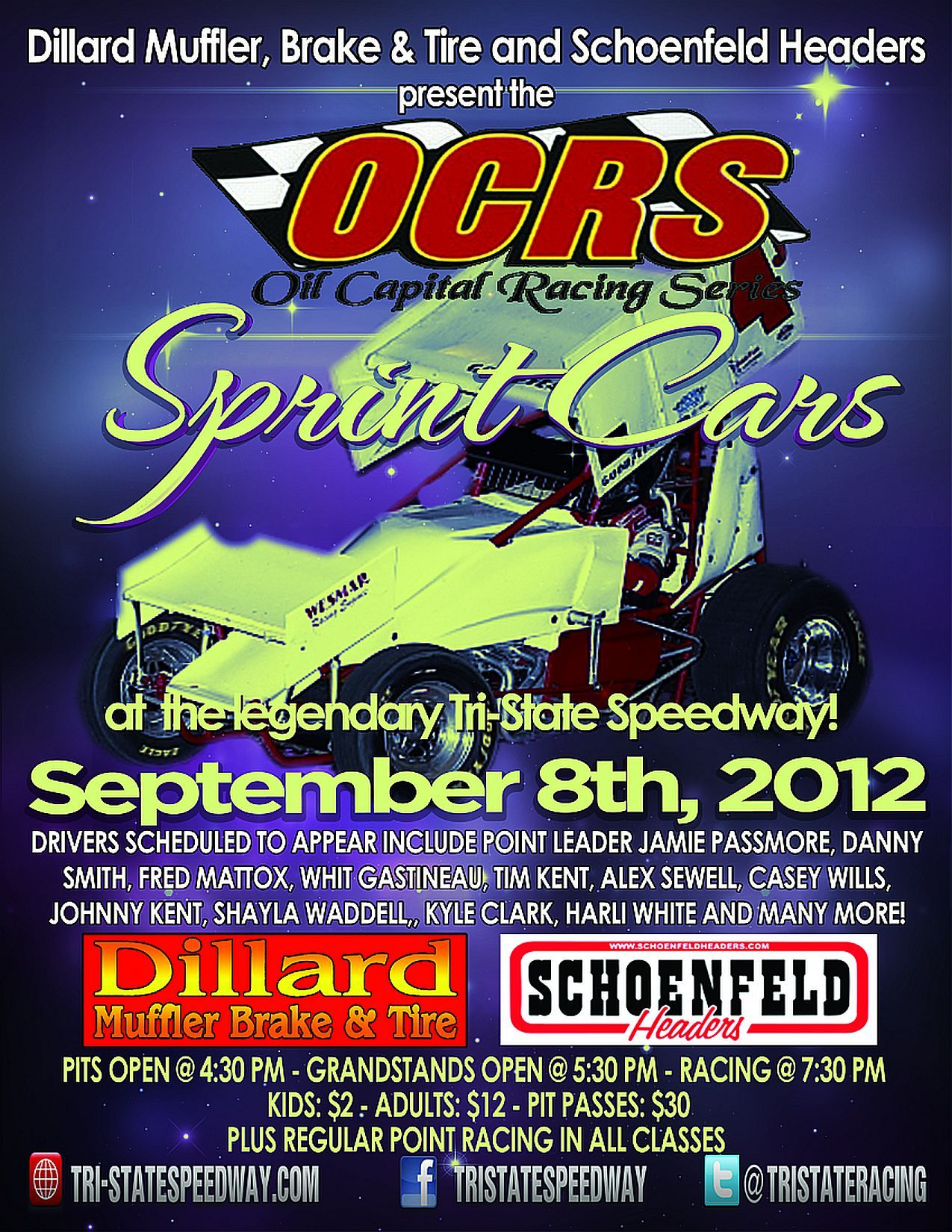 Oil Capital Racing Series Sprint Cars