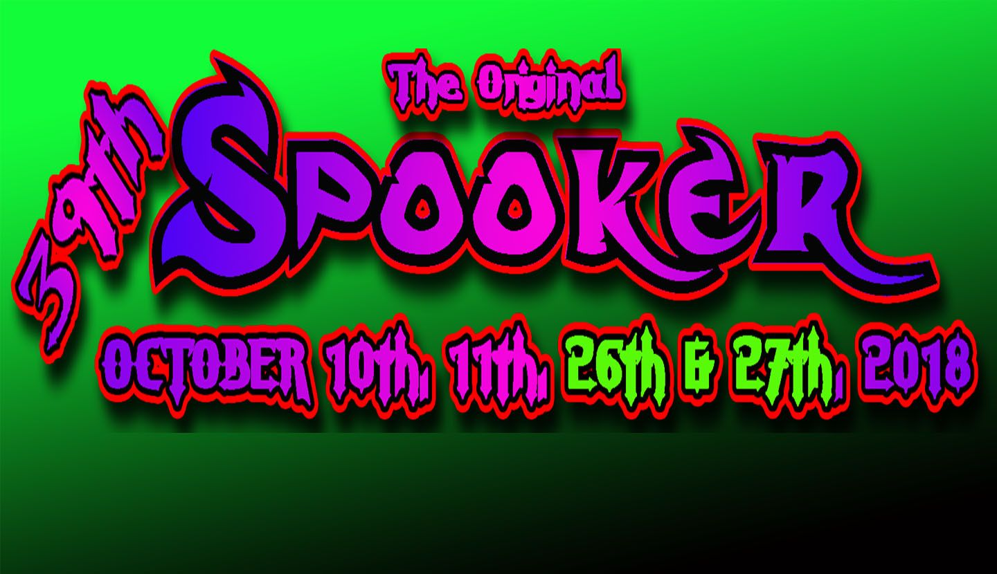 39th Annual Spooker Information Released