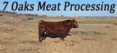 7 Oaks Meat Processing