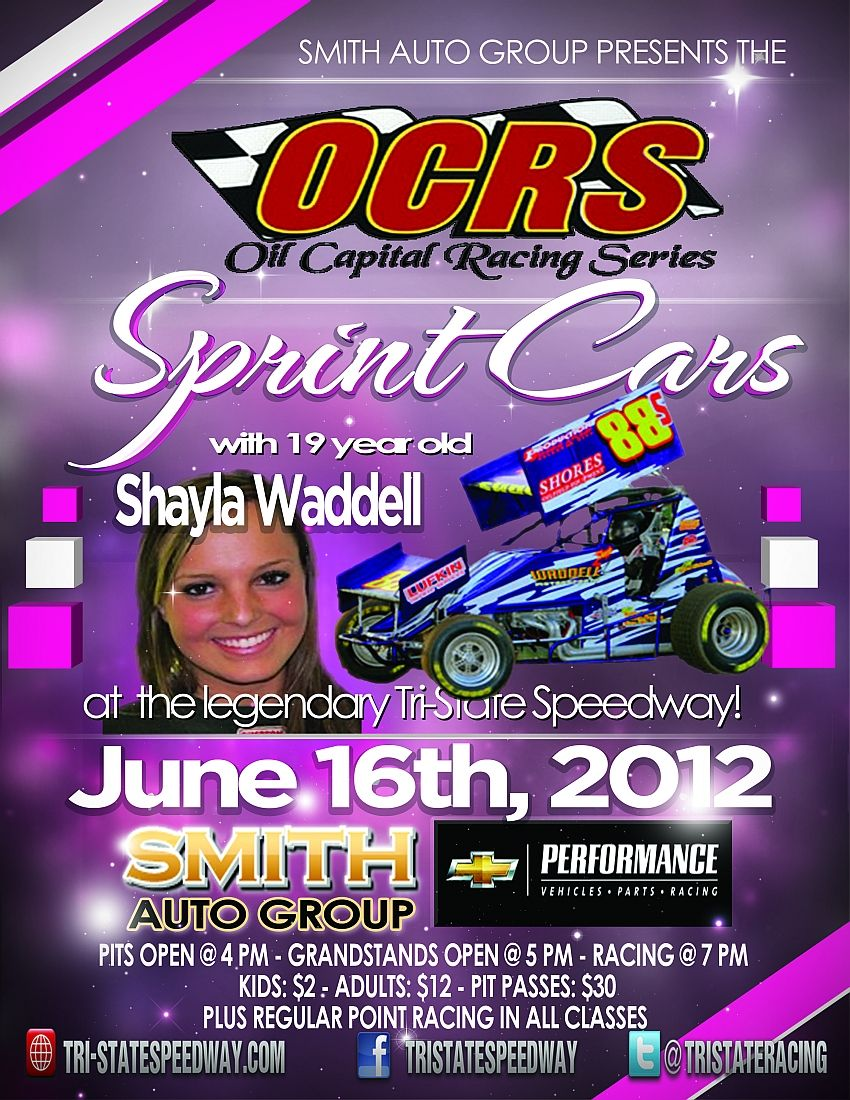 OCRS Sprint Cars presented by Smith Auto Group on June 16th, 2012